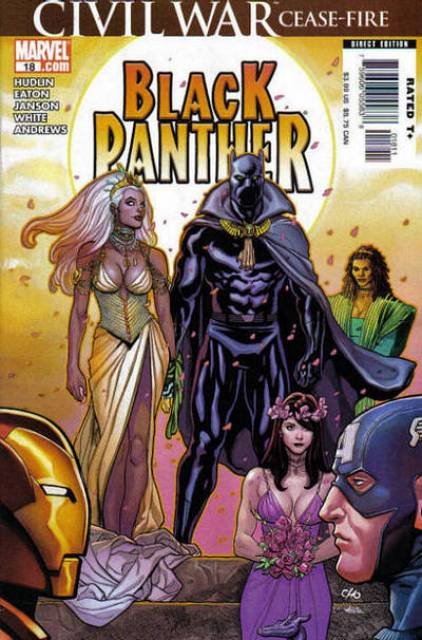 Black Panther (2005) no. 18 - Used