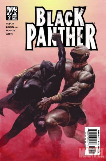 Black Panther (2005) no. 2 - Used