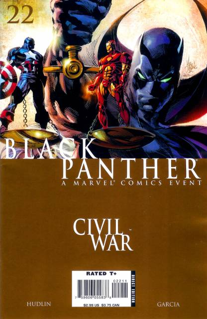 Black Panther (2005) no. 22 - Used