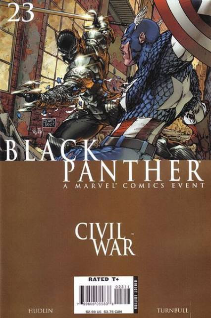 Black Panther (2005) no. 23 - Used