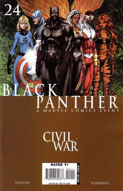 Black Panther (2005) no. 24 - Used