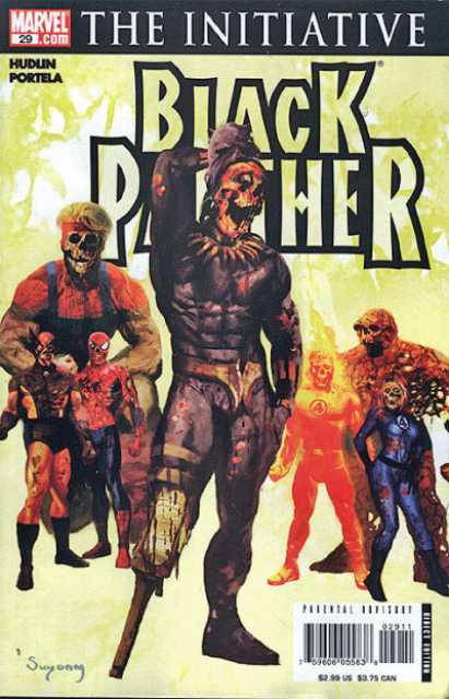 Black Panther (2005) no. 29 - Used