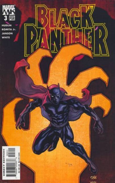 Black Panther (2005) no. 3 - Used