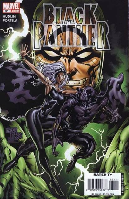 Black Panther (2005) no. 31 - Used