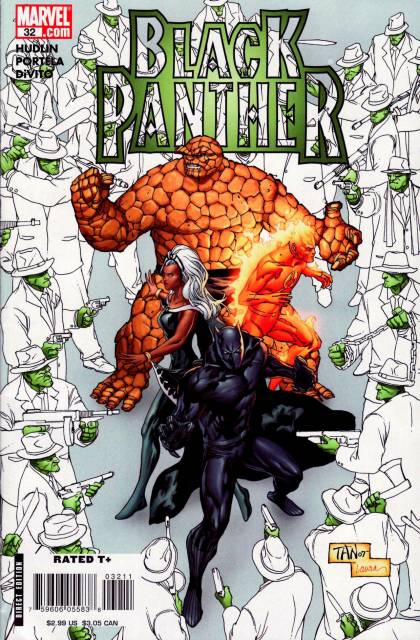 Black Panther (2005) no. 32 - Used