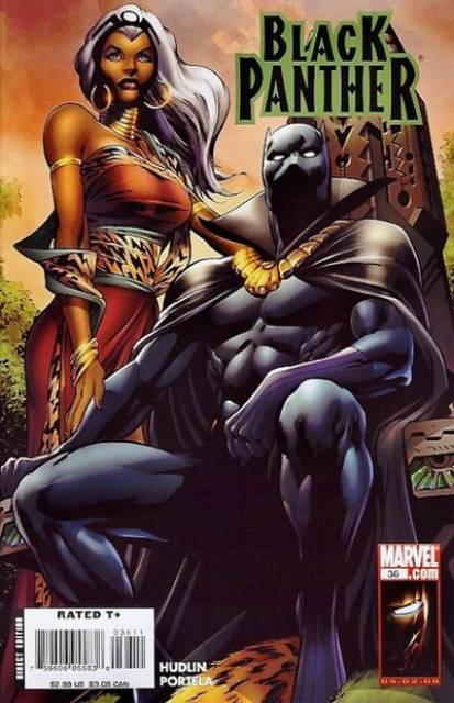 Black Panther (2005) no. 36 - Used