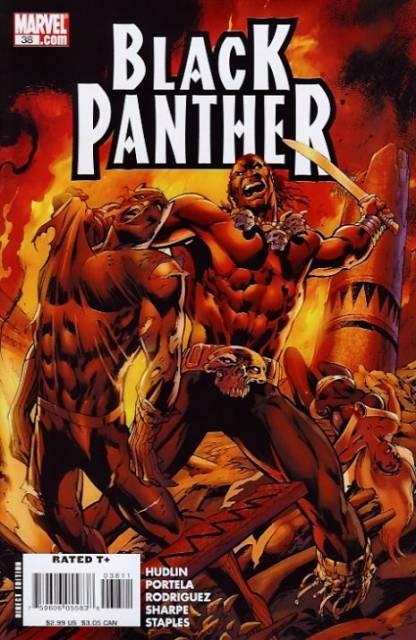 Black Panther (2005) no. 38 - Used