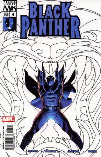 Black Panther (2005) no. 4 - Used