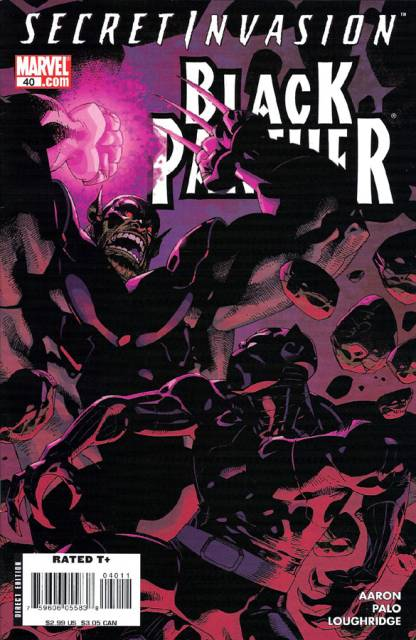 Black Panther (2005) no. 40 - Used