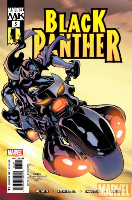 Black Panther (2005) no. 5 - Used