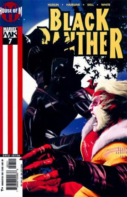 Black Panther (2005) no. 7 - Used