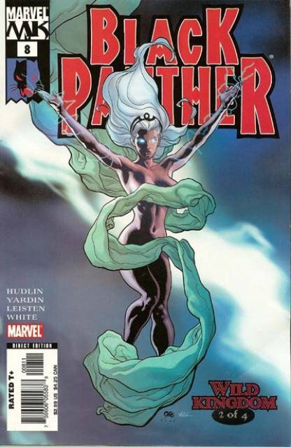 Black Panther (2005) no. 8 - Used
