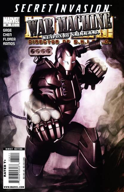Iron Man (2005) no. 34 - Used
