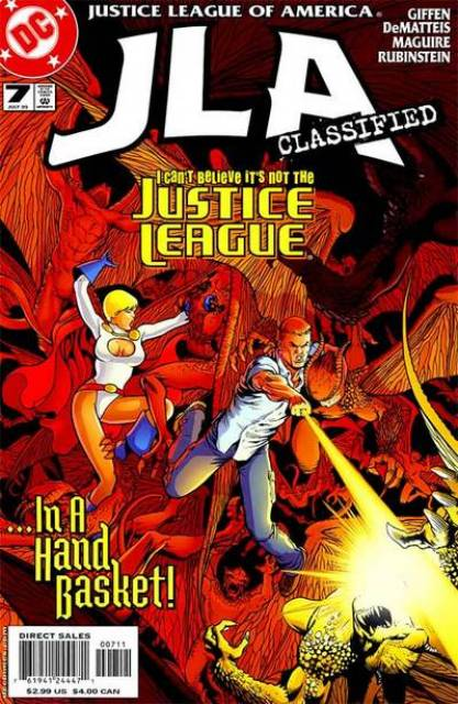JLA Classified (2005) no. 7 - Used
