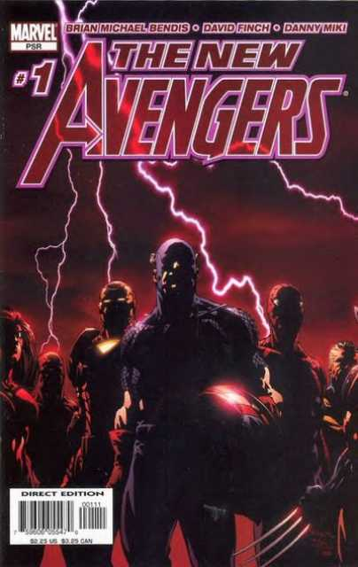 New Avengers (2005) no. 1 - Used
