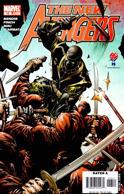 New Avengers (2005) no. 13 - Used