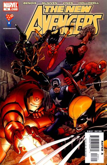 New Avengers (2005) no. 16 - Used