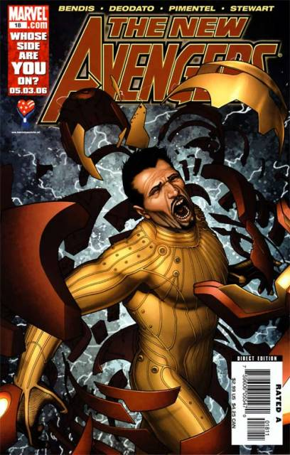 New Avengers (2005) no. 18 - Used