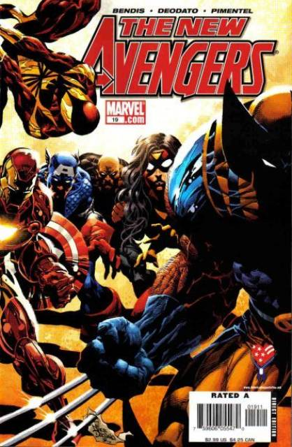 New Avengers (2005) no. 19 - Used