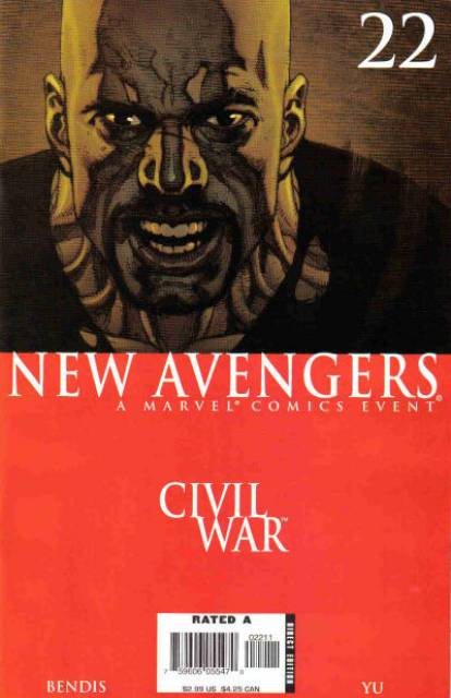 New Avengers (2005) no. 22 - Used