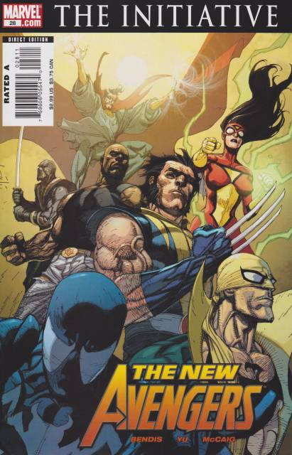New Avengers (2005) no. 28 - Used