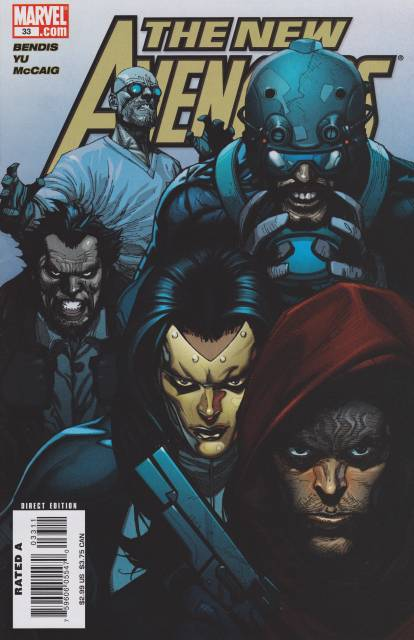 New Avengers (2005) no. 33 - Used