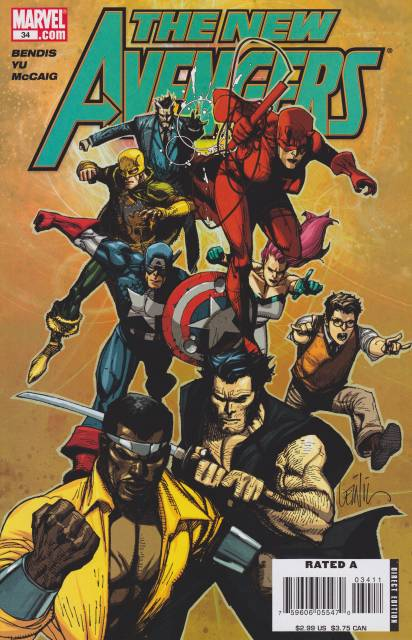 New Avengers (2005) no. 34 - Used
