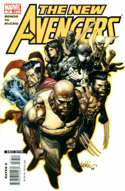 New Avengers (2005) no. 37 - Used