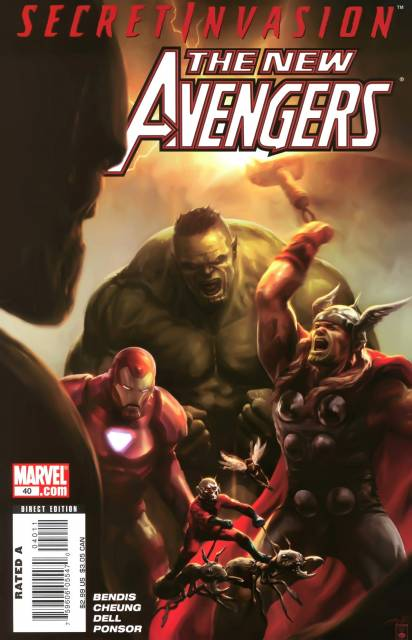 New Avengers (2005) no. 40 - Used