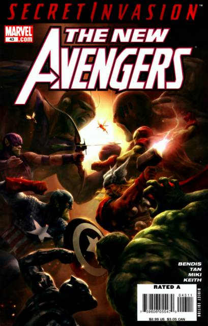 New Avengers (2005) no. 43 - Used