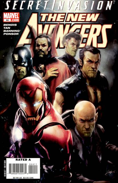 New Avengers (2005) no. 44 - Used
