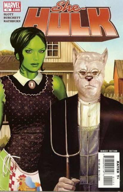 She-Hulk (2005) no. 11 - Used
