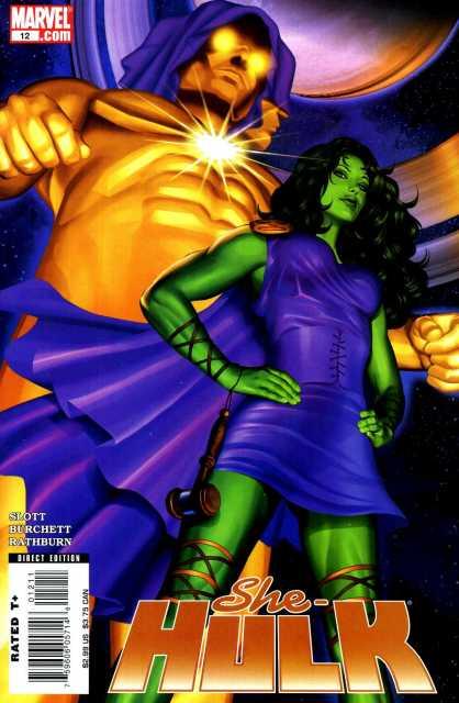 She-Hulk (2005) no. 12 - Used