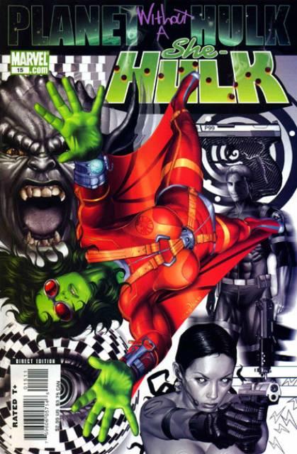 She-Hulk (2005) no. 15 - Used