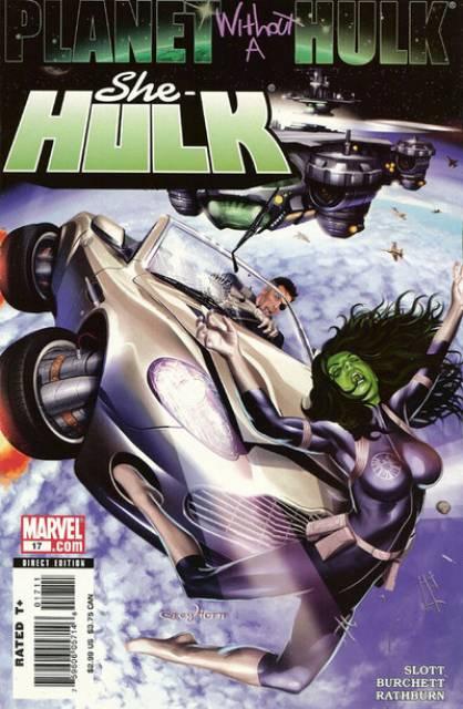 She-Hulk (2005) no. 17 - Used
