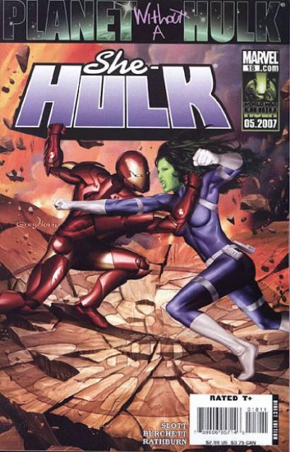 She-Hulk (2005) no. 18 - Used