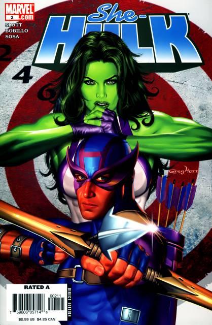She-Hulk (2005) no. 2 - Used