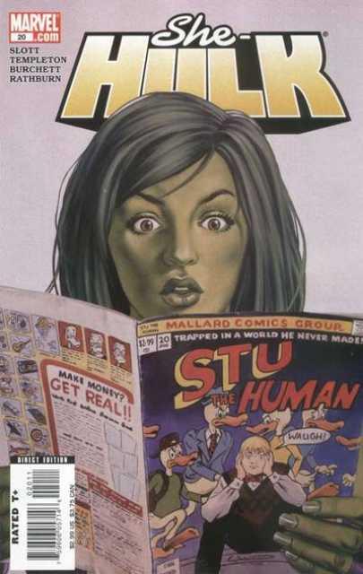 She-Hulk (2005) no. 20 - Used