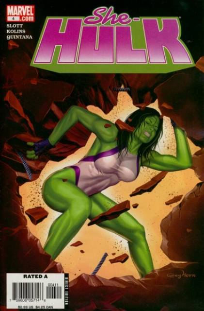 She-Hulk (2005) no. 4 - Used