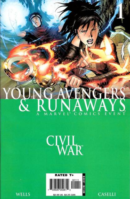Civil War: Young Avengers and Runaways (2006) Complete Bundle - Used