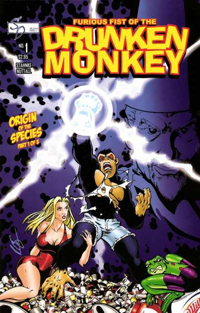Furious Fist of the Drunken Monkey: Origin of the Species (2006) Complete Bundle - Used