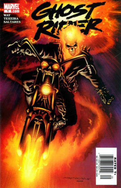 Ghost Rider (2006) no. 1 - Used