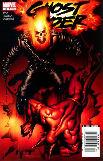 Ghost Rider (2006) no. 2 - Used