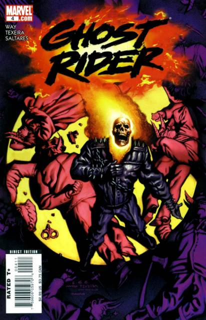 Ghost Rider (2006) no. 4 - Used
