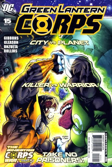 Green Lantern Corps no. 15 - Used