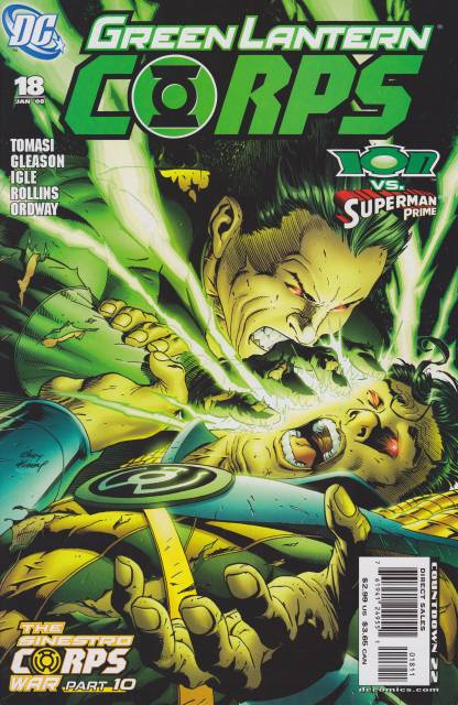 Green Lantern Corps no. 18 - Used