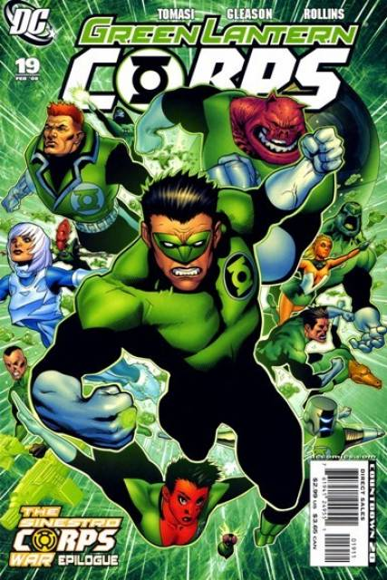 Green Lantern Corps no. 19 - Used