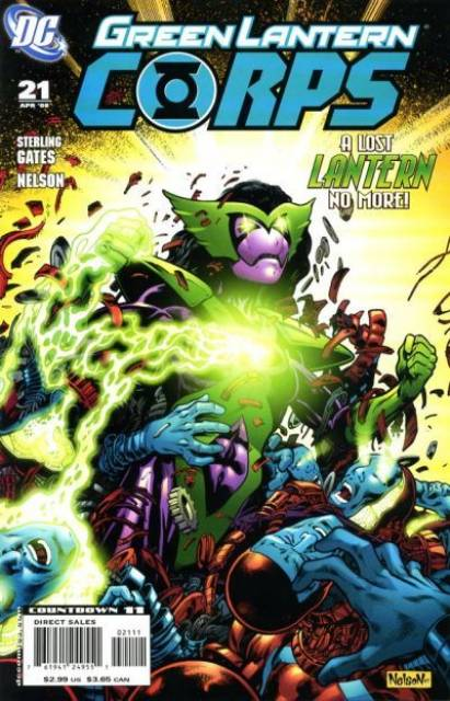 Green Lantern Corps no. 21 - Used