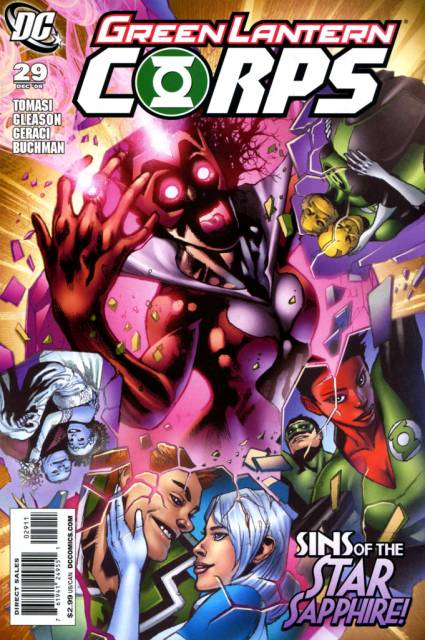 Green Lantern Corps no. 29 - Used