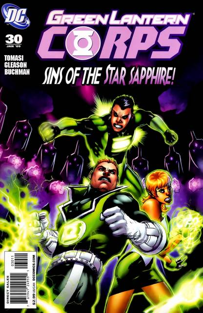 Green Lantern Corps no. 30 - Used